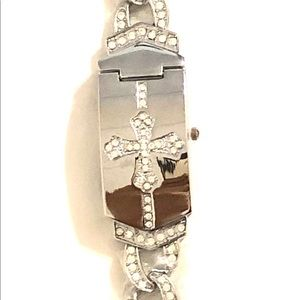 Cross Crucifix Unisex Watches Stainless Steel